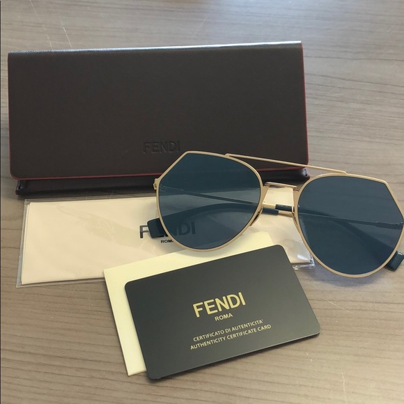 f8f9179156 Fendi Accessories - Fendi Eyeline Aviator Sunglasses